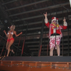 """Santa provided lap dances later for five dollars • <a style=""""font-size:0.8em;"""" href=""""http://www.flickr.com/photos/42886877@N08/3997989185/"""" target=""""_blank"""">View on Flickr</a>"""